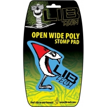 Стомп пад Lib Tech Open Wide Poly Traction Snowboard Stomp Pad в стиле бренда
