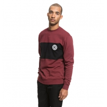 Свитшот DC REBEL BLOCK SWEATSHIRT EDYFT03393 бордо