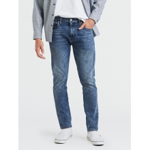 Джинсы Levi's 512 Slim Taper Fit Dewdrops warp Stretch синие