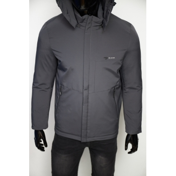 Куртка евро зима Fashion Republic 7 Everst Soft Shell 202 серая