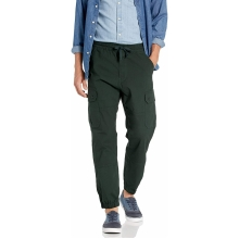 Джинсы джогеры Levi's Aviator Cargo Jogger Night Lagoon Ripstop Stretch с карманами